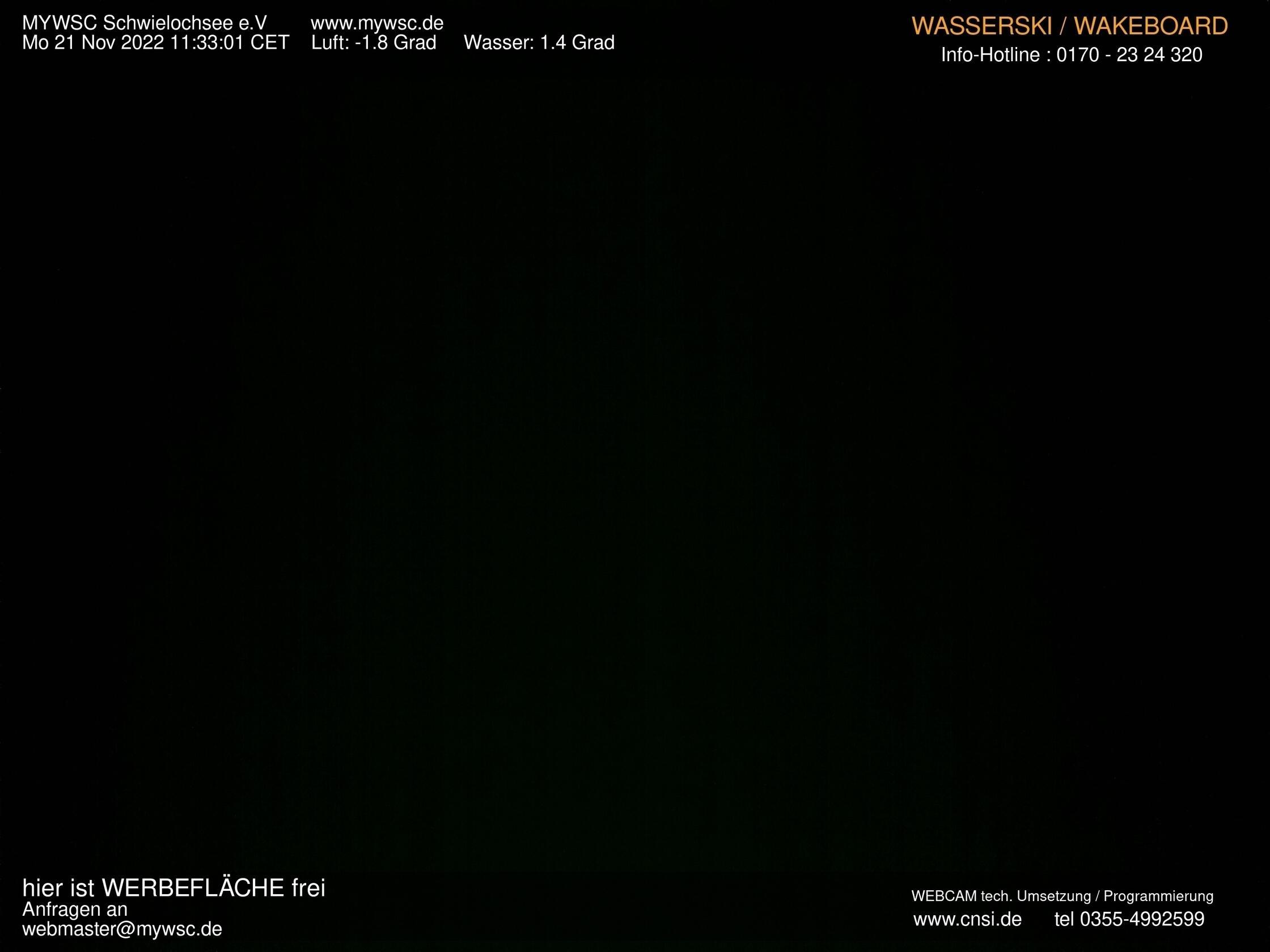 Wassersport am Schwielochsee - Webcam 2